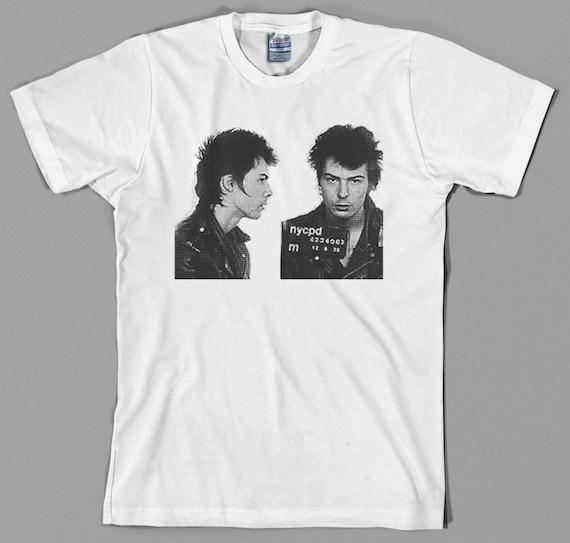 Mugshot Shirt Sid Punk Sex Rock T 70sEtsy Vicious Pistols A3jcq4R5L