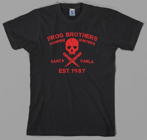 THE LOST BOYS T-Shirt Mens Santa Carla Vampire Unisex Top Movie 80s Cult Classic