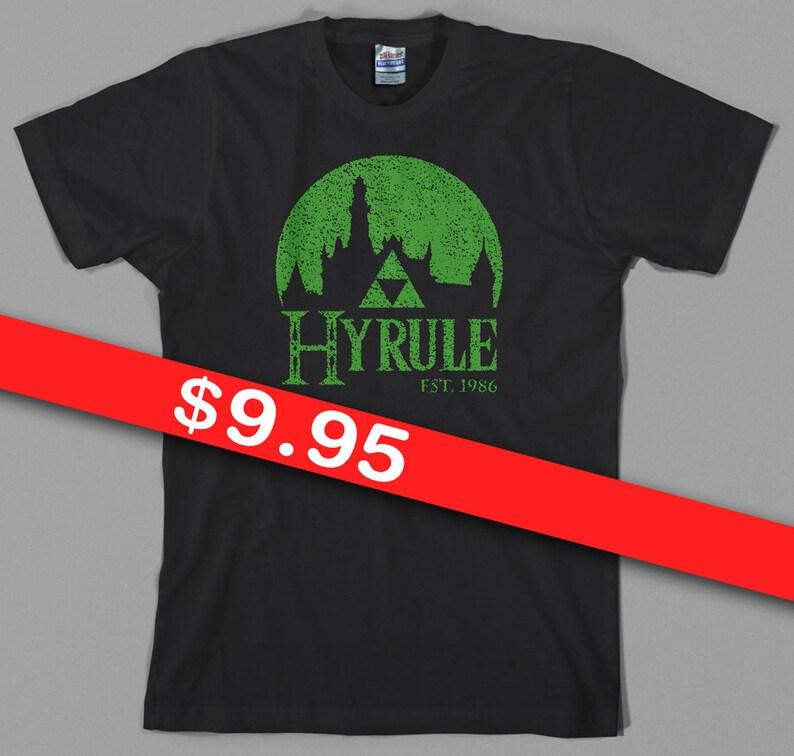 fb46328d9 Hyrule Legend of Zelda T Shirt breath of the wild link | Etsy
