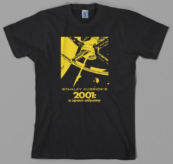 2001 A Space Odyssey HAL 9000 Error Sci-fi Movie Poster Black Mens Tshirt