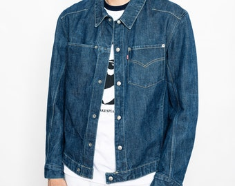 Vintage Levi's Denim Light Jackets Utility Unisex, Levis Engineered Boxy Denim Jacket