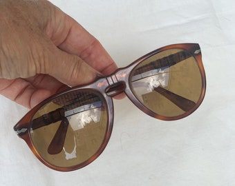 Vintage Persol Sunglasses Ultra Rare Mod. 649, Persol Meflecto Ratti Man Sunglasses, Steve McQueen Sunglasses