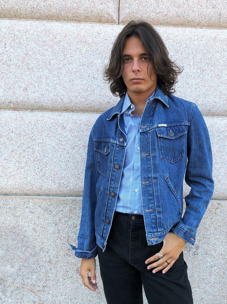 Uomo Anni 70.Spitfire Giacca Denim Uomo Giubbotto Jeans Uomo Anni 70 Vintage Anni 70 Denim Giacca