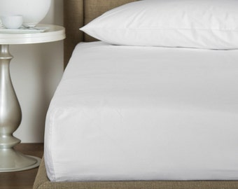 White Bamboo Sheets California King Size - 100% Bamboo, Softest Sheets in the World by Fiber Element™
