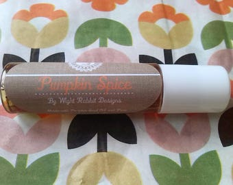 Pumpkin Spice Roll on perfume Oil, Limited Edition! Natural and Vegan