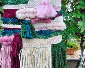 Garden Weaving - Woven Wall Hanging