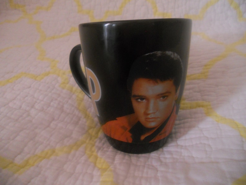 Elvis Presley Coffee Mug Cup EP 4EVER. Collectible Mug.Gift image 0