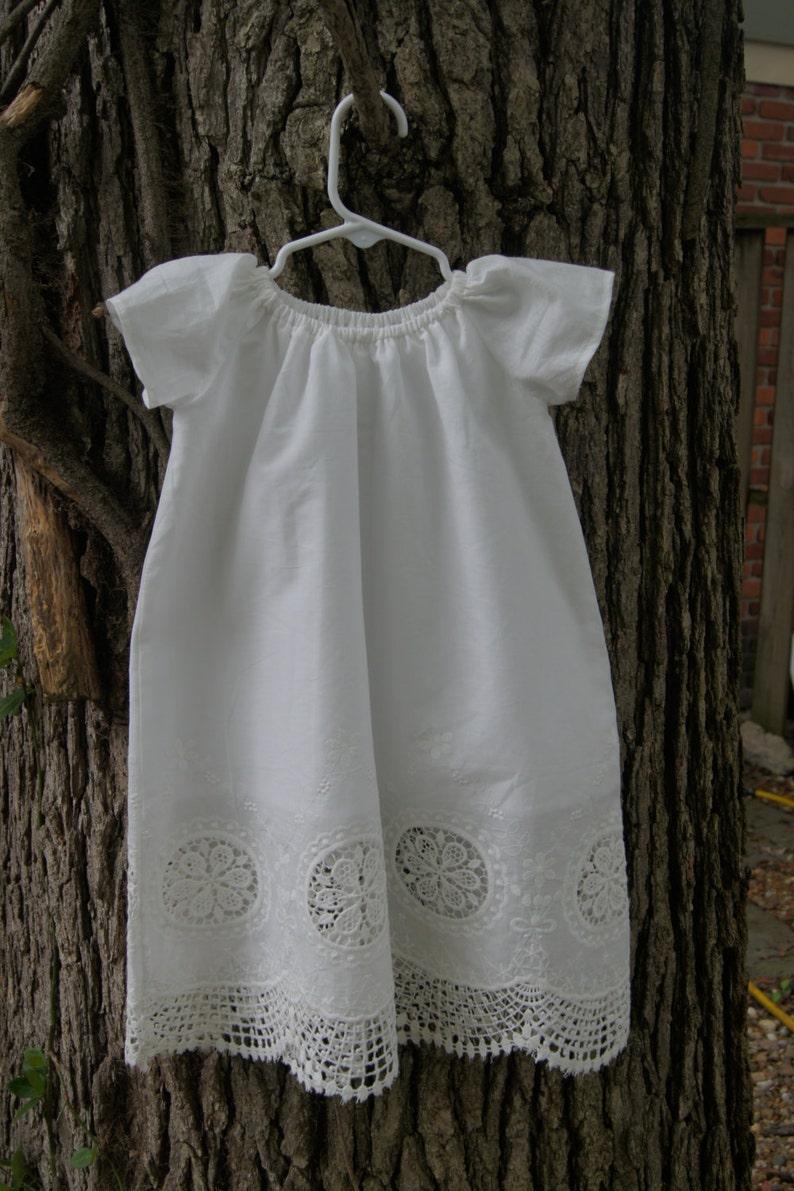 0576012e6 Long Baby girl baptism dress christening dress naming ceremony | Etsy