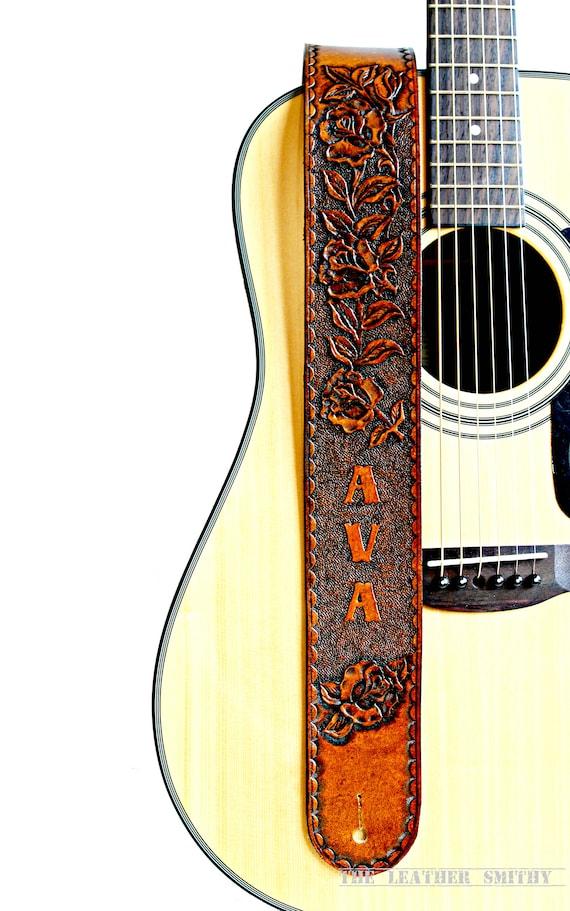 Einstellbar Schultergurt mit Schädel Muster für E E-Gitarre Bass