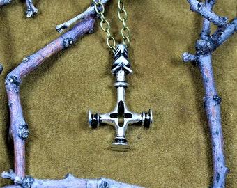 Wolf cross, Icelandic inspired Thor's hammer