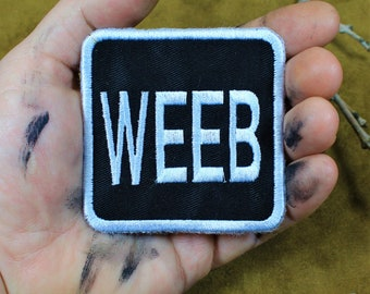 Weeb, sew on patch
