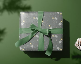 Magical Christmas Wrapping Paper | Christmas Decorative Paper | Gift Packaging idea | Christmas Present Gift Wrap |
