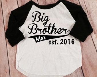 4753c7a32 Big Cousin Shirt Big Cousin Shirts Personalized Shirt Sibling Shirts  Brother Shirt Pregnancy Announcement Shirt Baby