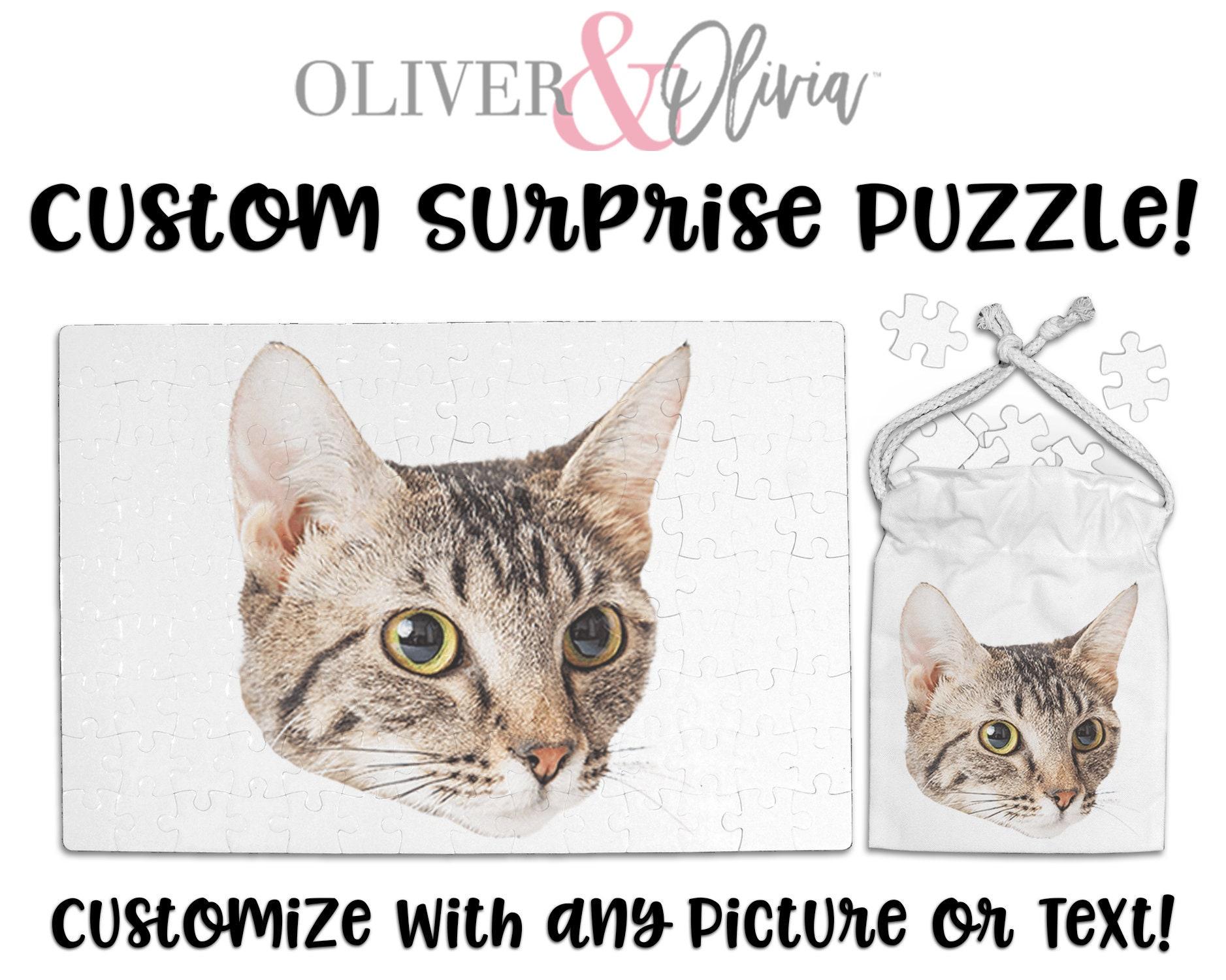 Custom Pet Photo Puzzle