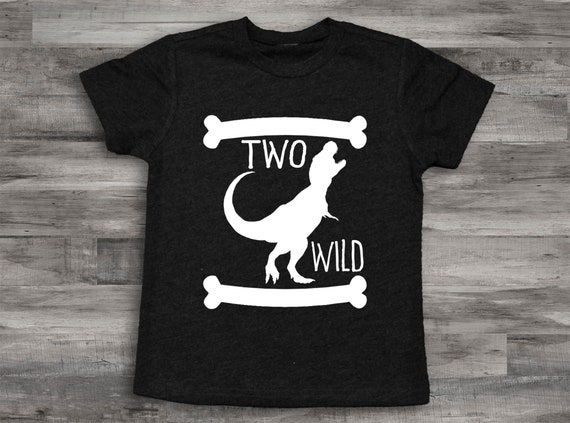 Two Shirt Boys 2nd Birthday Wild Boy Second Toddler Kangaroo Tee Christmas Gift