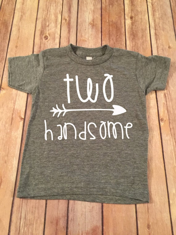 Two Handsome Birthday Shirt 2nd
