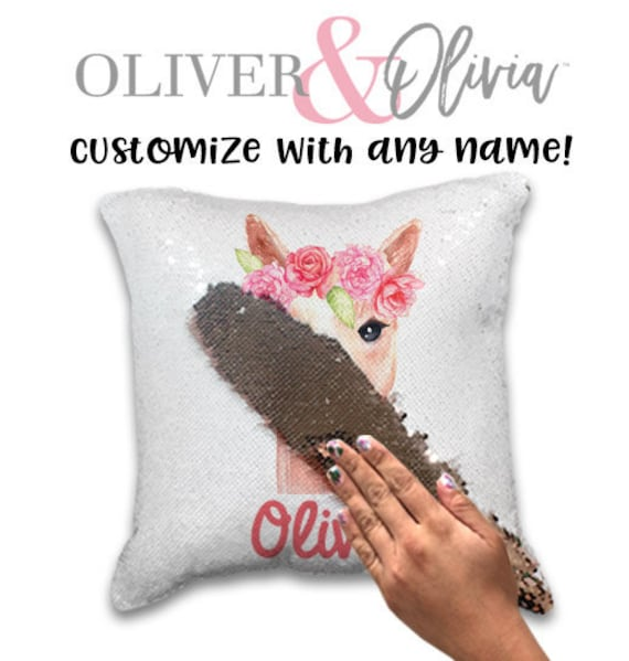 Personalised Llama Pillow
