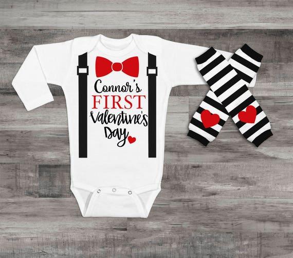 1c7fb17d3ffc My 1st Valentine s Day Baby Boy 1st Valentine s Day