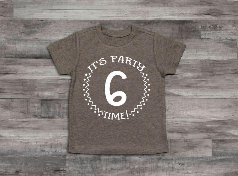 Boy Clothes Baby Boy Clothes 6th Birthday Shirt Its Party