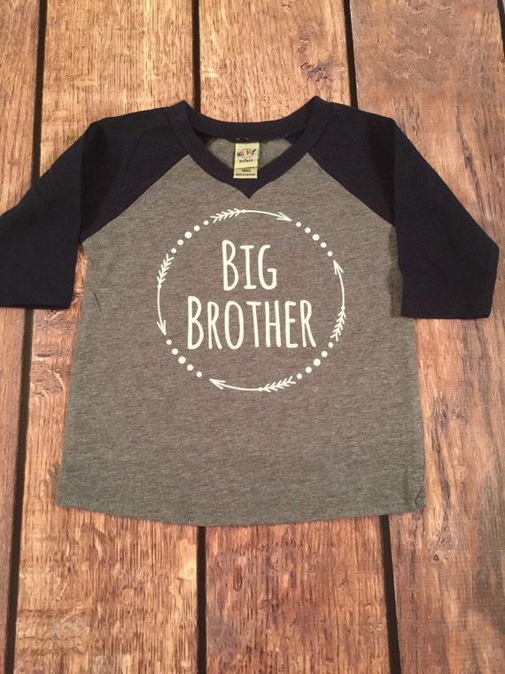 681172bb4a3e Big Brother Shirt Little Brother Shirt Personalized Shirt | Etsy