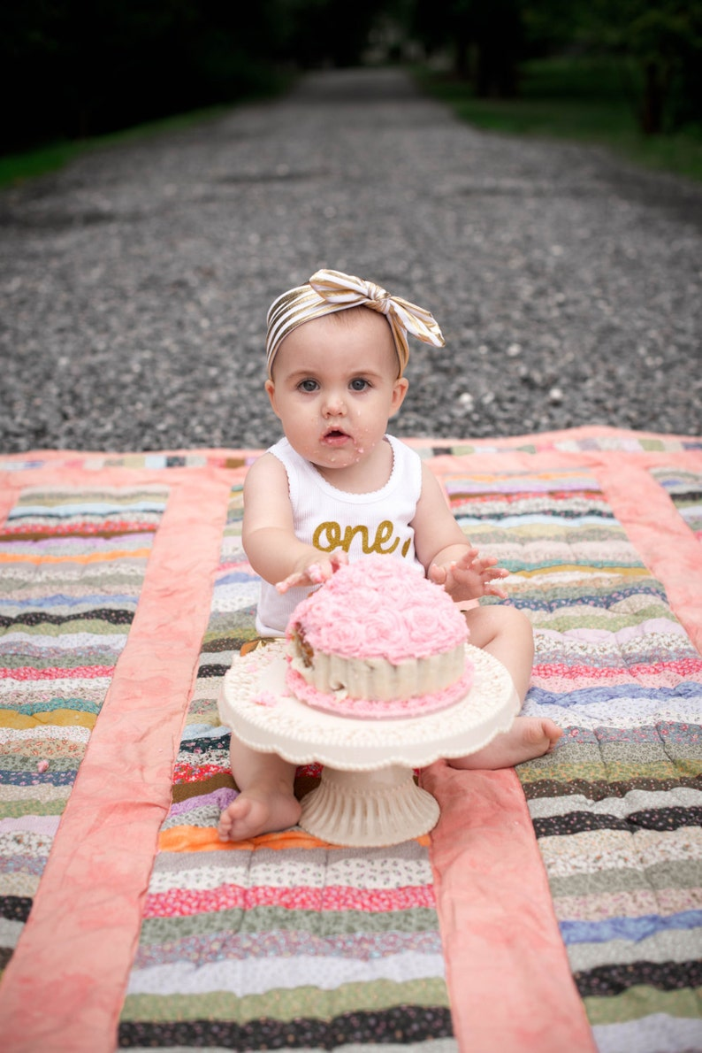 Baby Ribbed Tank,Childrens White Ribbed Tank READY TO SHIP One Gold Sparkle Birthday Ribbed tank top First Birthday Tank Smash Cake Tank