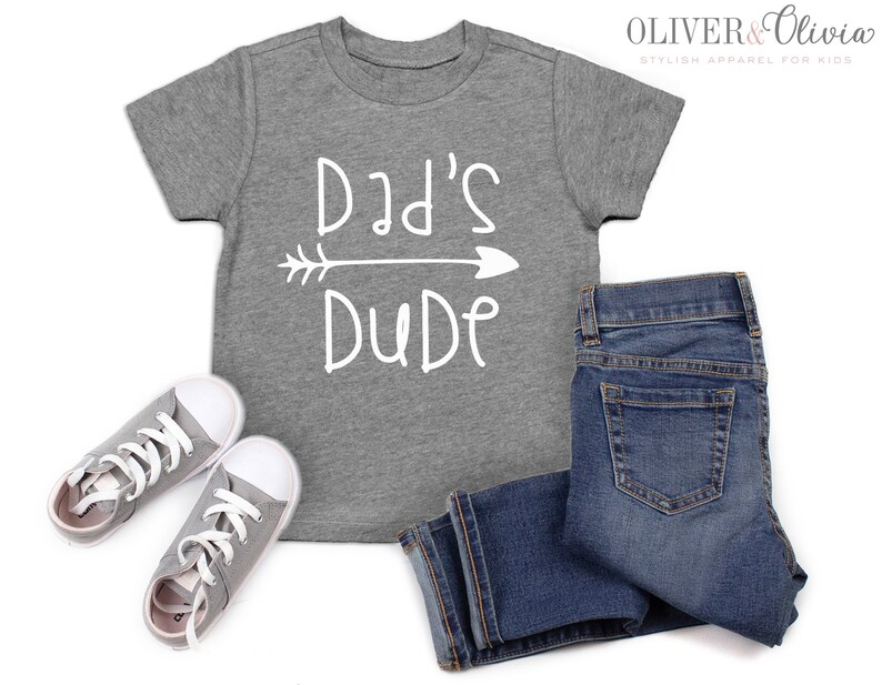 dc82cd6d3 Dad's Dude Father's day shirt boys father's day | Etsy
