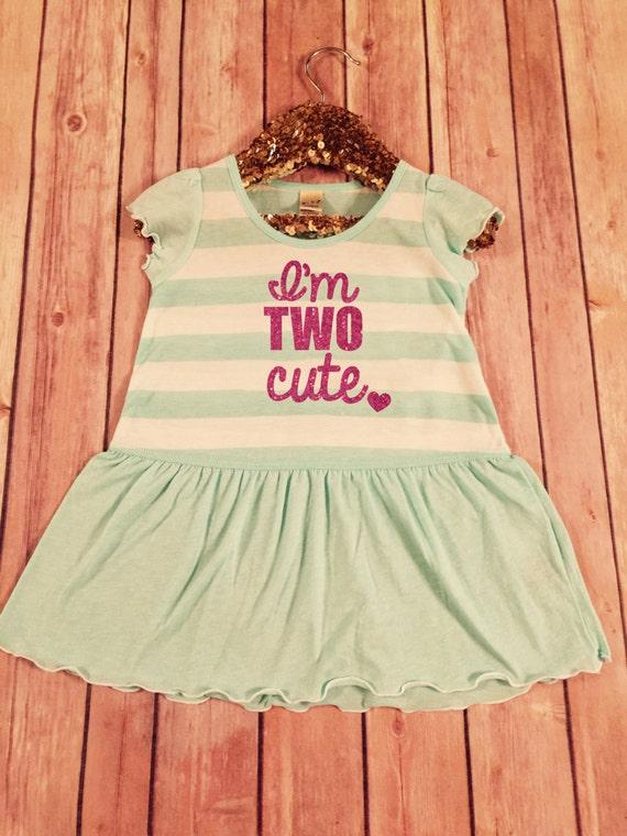 f84116c4 Second Birthday Dress Pink Sparkle Birthday Shirt Baby Girl | Etsy