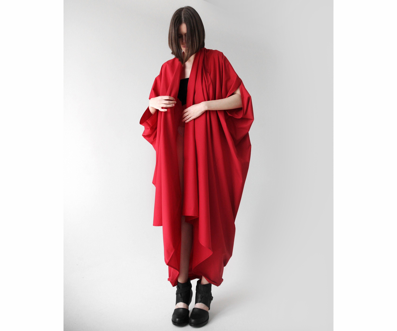 89525f87ab Kimono style wrap dress/ Plus size maxi dress/ loose summer   Etsy