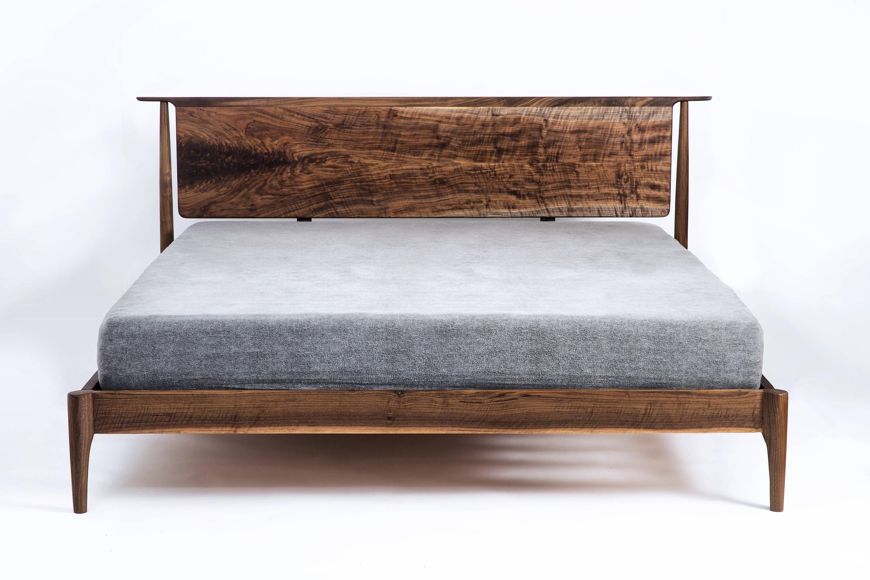 moderne Bett mid-Century modern Aufbewahrung Bett optional / | Etsy