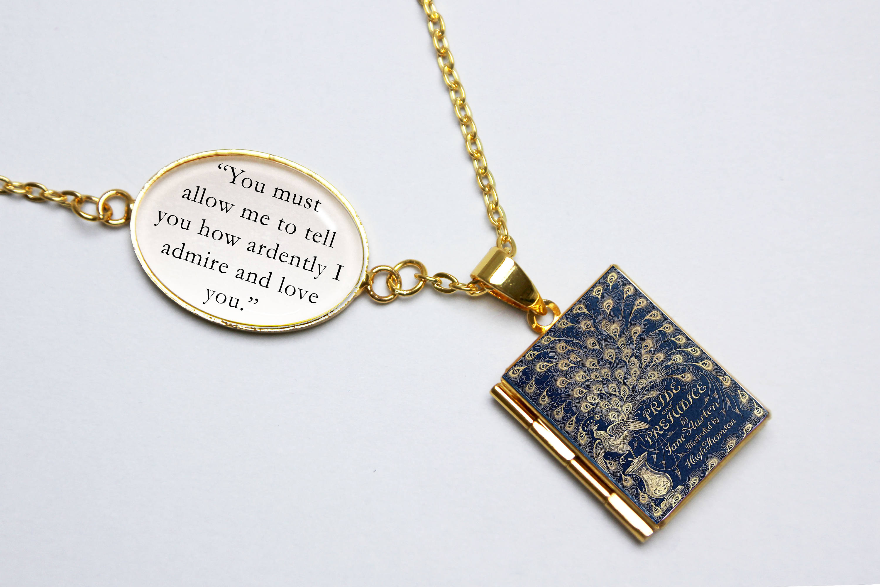 Charming Locket Necklace,Beautiful Locket Necklace,So it goes So it goes Locket Necklace Quote Locket Pendant Literary Jewelry Literary Jewelry Literature Lover Gift