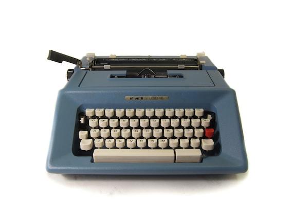 Free Shipping Olivetti STUDIO 45 Blue Ink Typewriter Ribbon