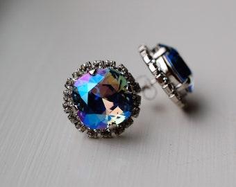 e1e9ff03828c78 Swarovski halo earrings