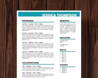 Thompson Resume Template
