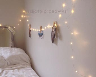 Perfect Gift For Her, Boho, Decor, Wall Decor For Bedroom, String Lights, Tapestry  Fairy Lights, Boho Mood Lighting, Plug, Great Gift IDEA