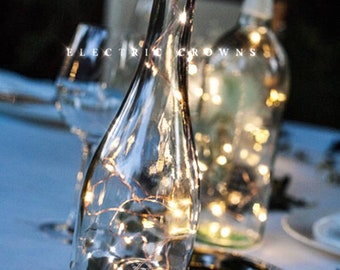 Diy wedding lantern wedding centerpiece wine bottle decor etsy wine bottle centerpieces for weddings wine bottle decor wine theme fairy lights wedding centerpiece battery operated wine bottle lights junglespirit Image collections