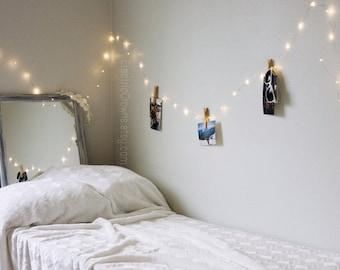 LED Fairy Lights, Plug In Fairy Lights, Bedroom, Indoor String Lights, Decorative Lights, White Lights, 13ft, 19ft, 33ft, 10 meter, 20 meter