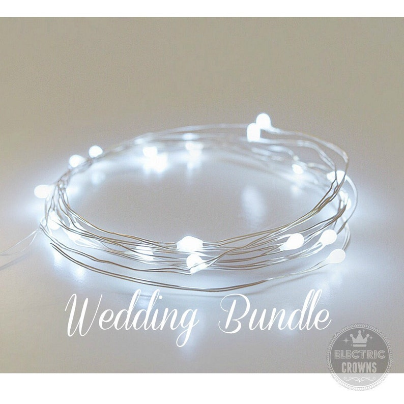 Awe Inspiring Winter Wedding Decor String Lights Fairy Lights Wedding Decoration Cool White Led Centerpieces Battery Operated 6 6Ft White Wedding Download Free Architecture Designs Remcamadebymaigaardcom