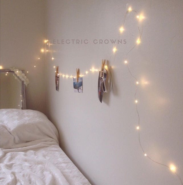 Bedroom Fairy Lights Bedroom Decor String Lights Dorm Etsy - Cheap bedroom fairy lights