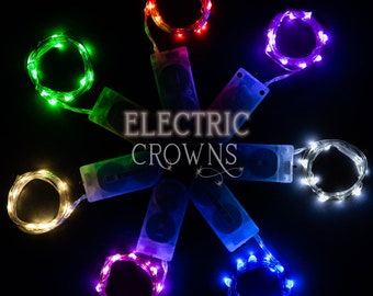 Costume lights, Kids, Girls, Boys, Light up, Costume accessories, Wearable LED lights, Dress up, Cosplay, Batteries included!
