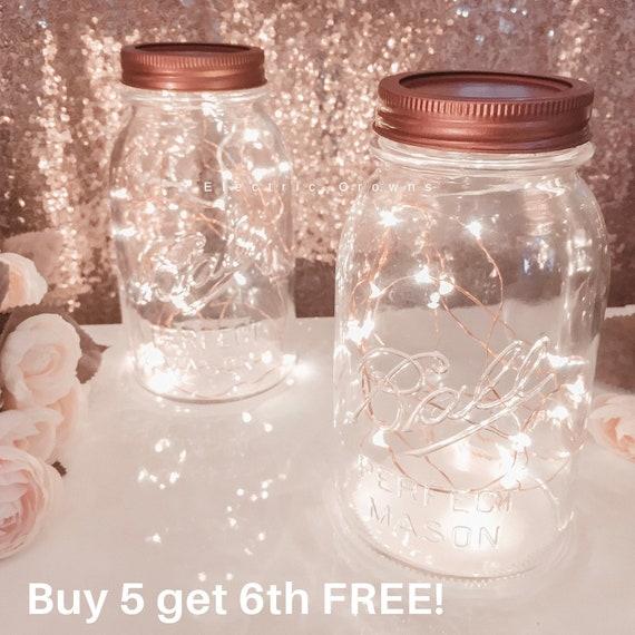hot sale online cb2c8 b6d66 Mason Jar Fairy Lights, For Lanterns, Centerpieces, Rustic Wedding Decor,  Fall Wedding, Rustic Party Decor *Mason Jar NOT included*