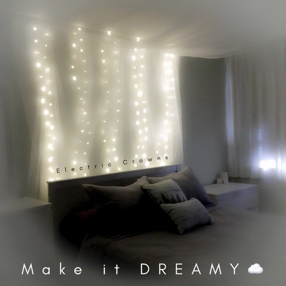 Fairy Lights Bedroom String Lights For Bedroom Hanging Lights Dorm Decor Plug In Battery Us Adapter