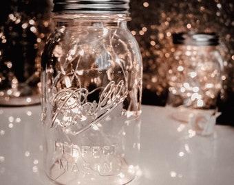 Rustic Wedding Decor, String Lights, Wedding Table Decor, Reception, Centerpiece, Battery, Fairy lights, 10-30 LEDs, 3ft, 6ft, 9ft