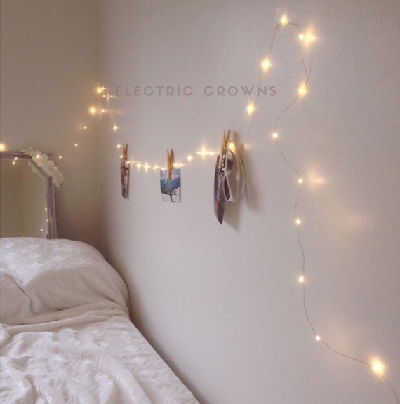 Dorm Decor, Bedroom Decor, Tumblr Decor, Fairy Lights, Teen Bedroom Decor,  Gift for teen 13ft to 33ft