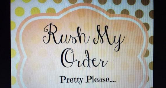 Rush My Harness Order