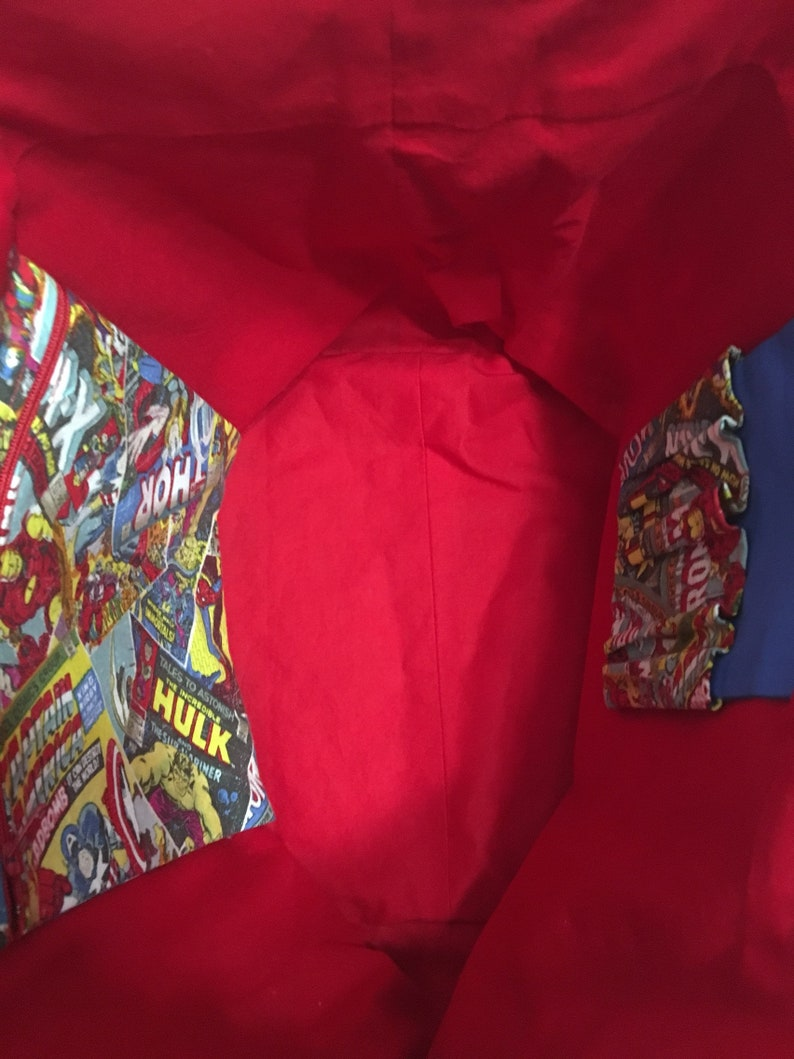 Marvel Covers Box Tote Bag