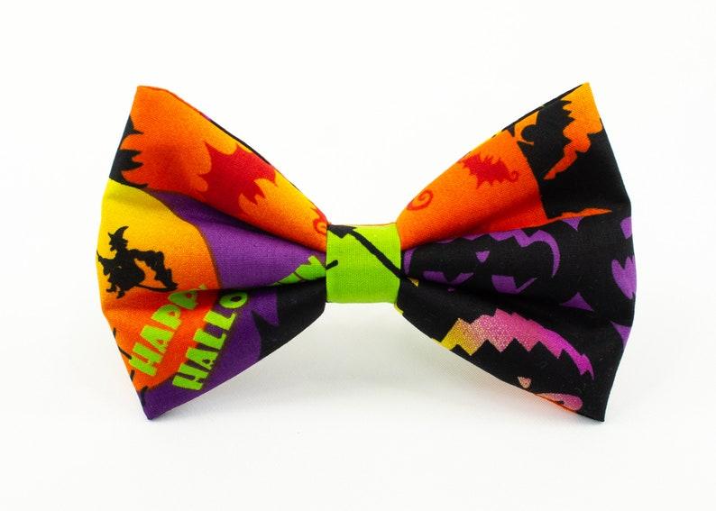 Halloween PatternPicture BlocksHair Bow