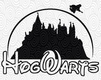 Captivating Cricut Template Harry Potter Disney Hogwarts Quidditch Silhouette No Fill  PNG Files Cutting Machines Scrapbooking Silhouette Vinyl Stencil
