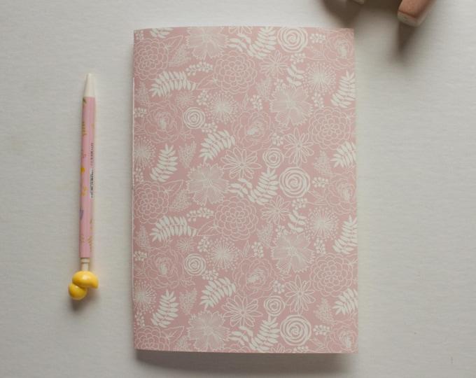 Pink & Cream Floral Journal