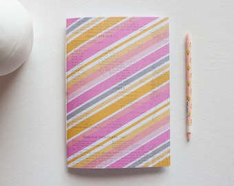 Striped Journal