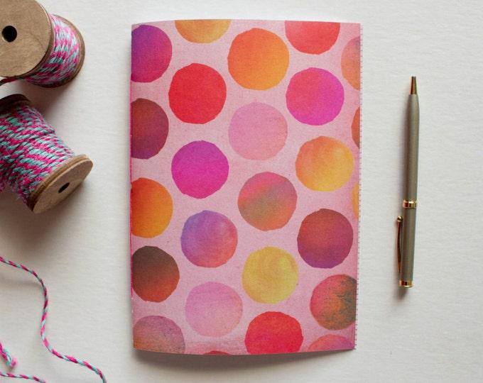 Pink Polkadot Journal